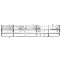 Grille Assembly - Silver Shell and Insert