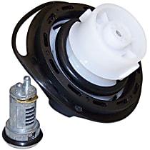 68030940AA Gas Cap - Black, Locking, Direct Fit, Kit