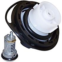 Crown 68030940AA Gas Cap - Black, Locking, Direct Fit, Kit