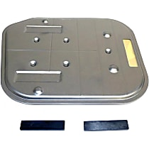 Automatic Transmission Filter - Black, Direct Fit, Sold individually
