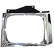Driver Side Headlight Door, Chrome