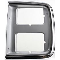 Passenger Side Headlight Door, Chrome