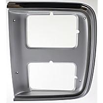 Driver Side Headlight Door, Chrome
