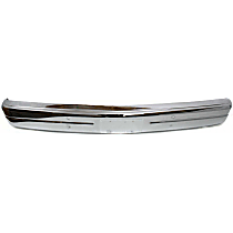 Bumper - Front, Chrome, Standard Type, For Models without Winch