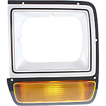 Driver Side Headlight Door, Painted Silver