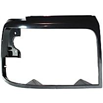 Passenger Side Headlight Door, Black