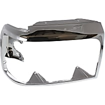 Passenger Side Headlight Door, Chrome