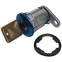 8122874K Door Lock Cylinder - Chrome, Direct Fit, Kit