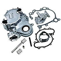 Crown 8129373K Timing Cover - Aluminum, Direct Fit, Kit