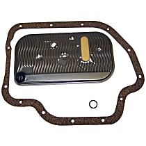 Crown 83300077 Automatic Transmission Filter - Black And Silver, Direct Fit, Sold individually