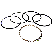 Crown 83500210 Piston Ring Set - Direct Fit, Set of 4