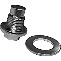 Crown 83501425 Oil Drain Plug - Natural, Steel, Standard, Direct Fit, Sold individually