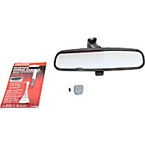 Crown 8993023K Rear View Mirror - Black, Direct Fit, Kit