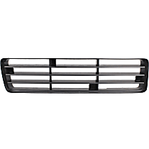 Grille Insert - Painted Black, Passenger Side, Lower