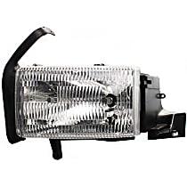 Driver Side Headlight, With bulb(s) - (94-01 Ram 1500 94-02 2500/3500 Pickup) - Single Beam Hdlght, Old Body Style, w/o Corner Light