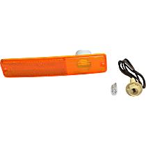 994020K Front, Driver or Passenger Side Side Marker, With bulb(s)