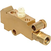 A1 Cardone 13-PV001 Brake Proportioning Valve - Bronze, Brass, Direct Fit, Sold individually