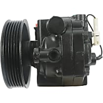 21-480 Power Steering Pump - With Pulley, Without Reservoir