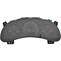 Instrument Cluster - Analog, Black, Direct Fit, Sold individually