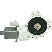 Rear, Driver Side Window Motor, Remanufactured