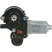 Window Motor, Remanufactured Rear, Driver Side