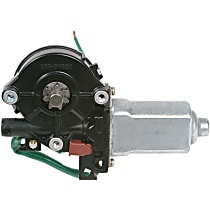 Window Motor, Remanufactured Rear, Driver Side