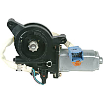 Front, Driver Side Window Motor, Remanufactured