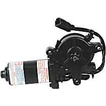 Rear, Driver Side Window Motor, Remanufactured