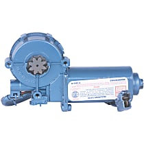 Window Motor, Remanufactured Front, Driver Side