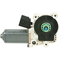 Front, Driver Side or Rear, Passenger Side Window Motor, Remanufactured