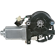 Window Motor, Remanufactured Front or Rear, Driver Side