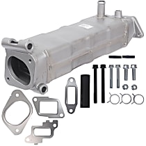 A1 Cardone 4E-1000 EGR Cooler - Metal, Direct Fit, Sold individually