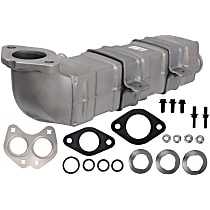 A1 Cardone 4E-3001 EGR Cooler - Metal, Direct Fit, Sold individually