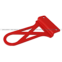 450-401003-R Tow Hook - Powdercoated red, Steel, Direct Fit, Sold individually