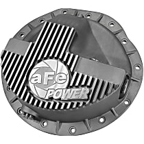 46-70040 Differential Cover - Natural, Aluminum, Direct Fit, Sold individually