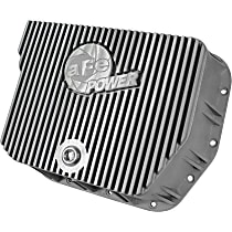 46-70050 Transmission Pan - Natural, Aluminum, Deep, Direct Fit, Sold individually