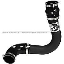 Intercooler Pipe - Powdercoated Black, Aluminum, Direct Fit, Kit