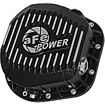 Differential Cover - Powdercoated Black, Aluminum, Direct Fit, Sold individually Rear