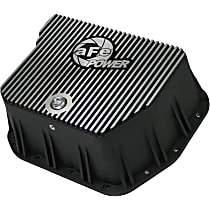 46-70052 Transmission Pan - Powdercoated Black, Aluminum, Deep, Direct Fit, Sold individually