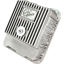 46-70240 Transmission Pan - Natural, Aluminum, Deep, Direct Fit, Sold individually