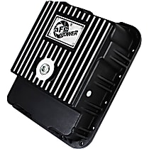 46-70242 Transmission Pan - Powdercoated Black, Aluminum, Deep, Direct Fit, Sold individually