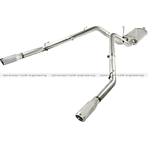 49-42013-P Power Machforce XP Series - 2009-2019 Cat-Back Exhaust System - Made of Stainless Steel