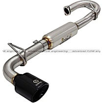 aFe - 2011-2016 Scion tC Axle-Back Exhaust System - Made of Stainless Steel