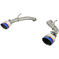 aFe - 2016-2018 Infiniti Q50 Axle-Back Exhaust System - Made of 304 Stainless Steel