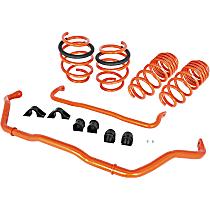 510-701001-N Suspension Kit - Powdercoated Orange, Steel, Direct Fit, Kit
