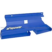 54-10468-L Air Intake Scoop - Powdercoated Blue, Aluminum, Direct Fit, Sold individually