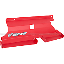 54-10468-R Air Intake Scoop - Powdercoated red, Aluminum, Direct Fit, Sold individually