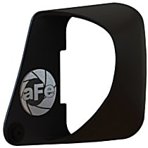 54-12218 Air Intake Scoop - Black, Plastic, Direct Fit, Sold individually