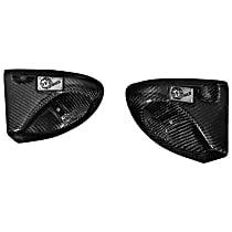 54-12489-C Air Intake Scoop - Carbon Fiber, Carbon Fiber, Direct Fit, Sold individually