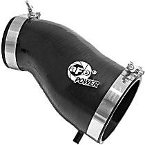 54-12619-B Intake Tube - Black, Silicone, Direct Fit, Sold individually